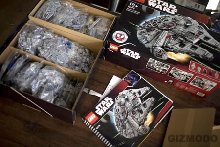 LEGO's Ultimate Collectors Millennium Falcon Unboxed