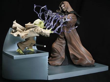 Yoda vs. Palpatine ARTFX Statue