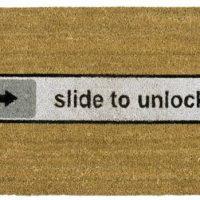 Fussmatte Slide To Unlock Doormat