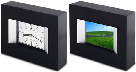TAO Digital Clock and Photo Viewer