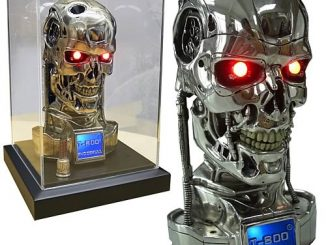 Terminator 2 T-800 Half Scale Endoskull Bust