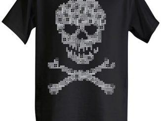 Tetris Skull and Crossbones T-Shirt