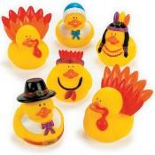 Thanksgiving Rubber Duckies