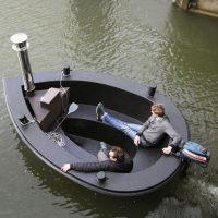 the hot tug boat