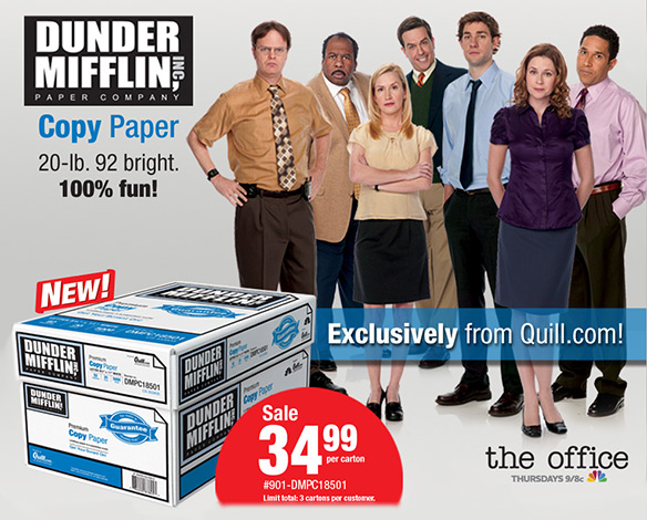 The Office Dunder Mifflin Paper