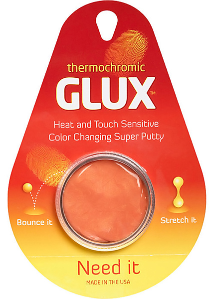 Thermochromic Glux Putty
