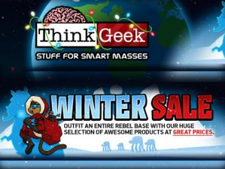 Think Geek Winter Sale