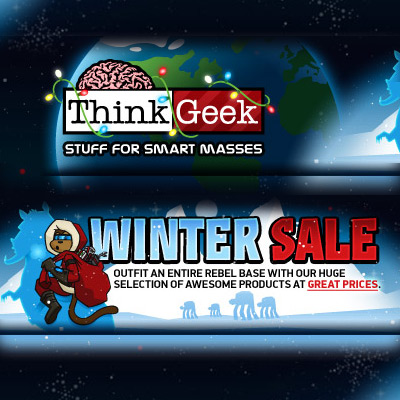 ThinkGeek creates unique products that stimulate the imagination. Shop for apparel, home and office, gadgets, collectibles, and more. Free shipping available!