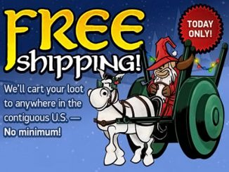 ThinkGeek Cyber Monday Free Shipping