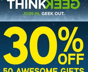 ThinkGeek Cyber Monday Sale 2015