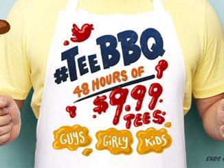 Threadless $9.99 T-Shirt Sale