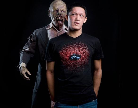 Threadless Zombie Horde T-Shirt
