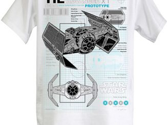 Tie Fighter Schematic T-Shirt