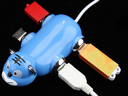Tiger 4-Port USB Hub