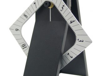 Time Tower Desk Clock
