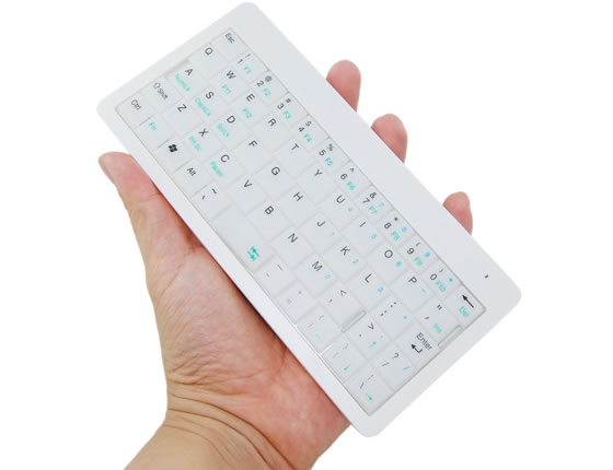 Illuminated Wireless USB Mini Keyboard