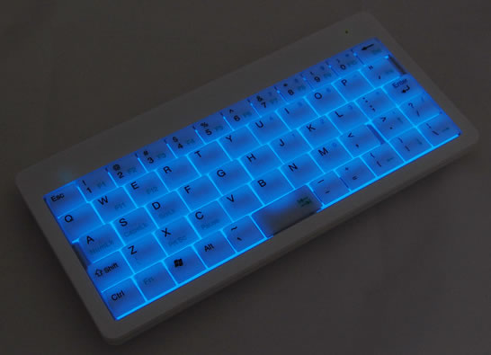 Illuminated Wireless USB Mini Keyboard