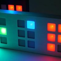 tix led clock