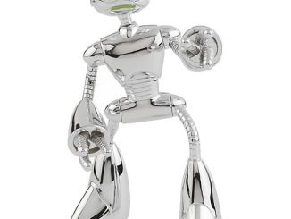 Teenage Mutant Ninja Turtles Chrome Fugitoid Figure
