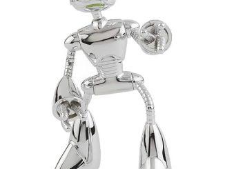 Teenage Mutant Ninja Turtles Chrome Fugitoid Figure