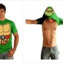 TMNT Raphael Costume Flip T-shirt