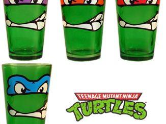 Teenage Mutant Ninja Turtles Drinking Glasses