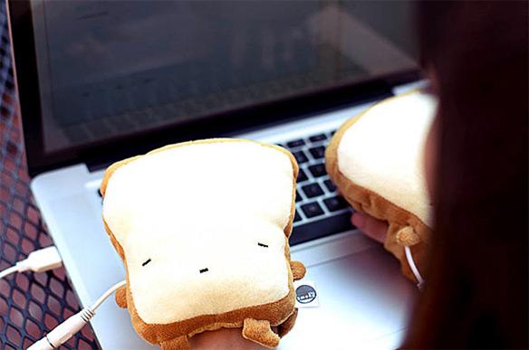 Toast USB Handwarmers