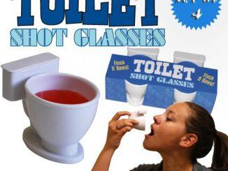 Toilet Shot Glasses