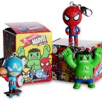 tokidoki marvel superhero frenzies keychains