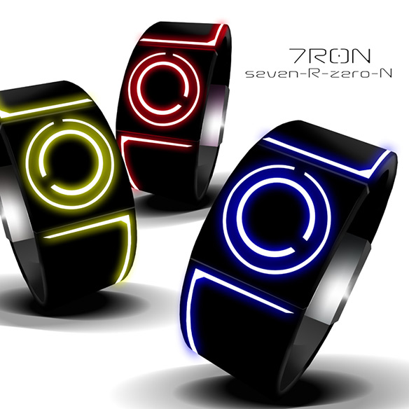 Tokyoflash Kisai Seven LED Watches
