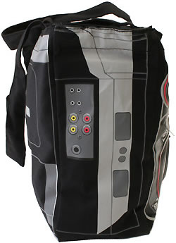 Ghetto Blaster Tote with Built-In Speakers