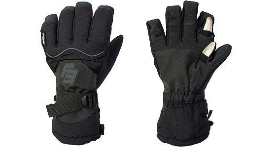 Touchscreen Capable Ski Gloves