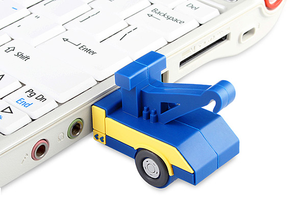 Tow Truck Flash Drive