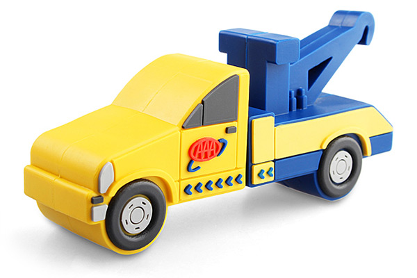 Tow Truck USB Flash Drive