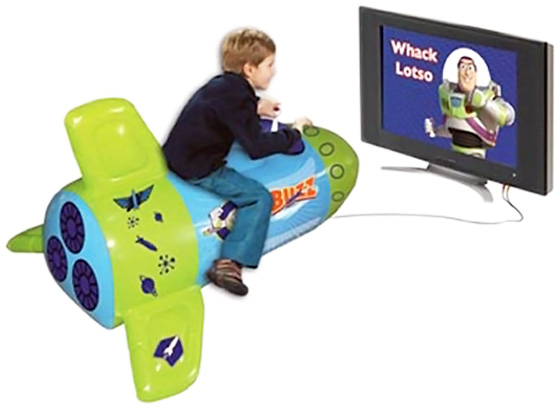 Toy Story Inflatable Video Game Rocket