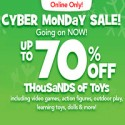 Toyrsus Cyber Monday Sale 2012