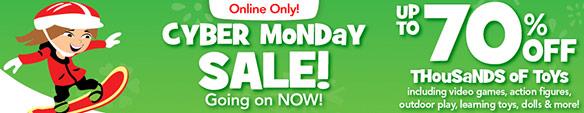 Toyrsus Cyber Monday Sale 2012