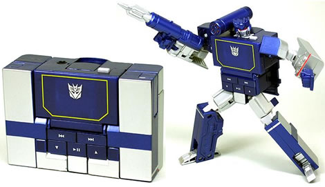 Transformers Music Label Soundwave