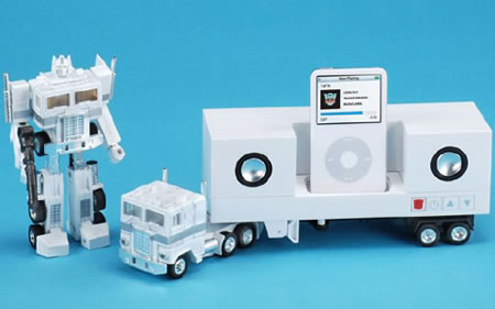 Optimus Prime Transformers iPod Dock with Speakers