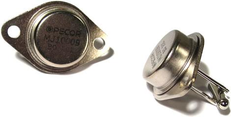 Transistor Cufflinks