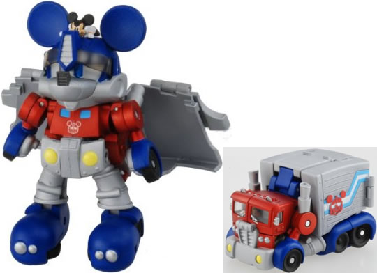 Mickey Mouse Transformers Robot