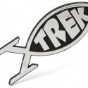 Star Trek Fish Car Emblem