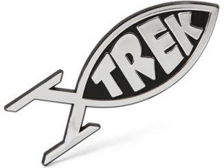 Star Trek Fish Car Emblem