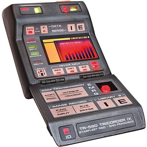 Star Trek Tricorder Replica