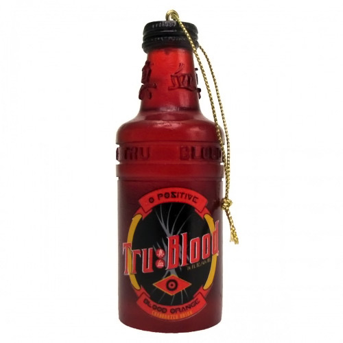 Tru Blood Bottle Christmas Ornament