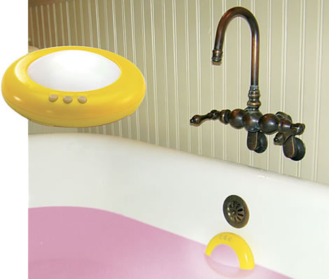 Color Changing Tub Light
