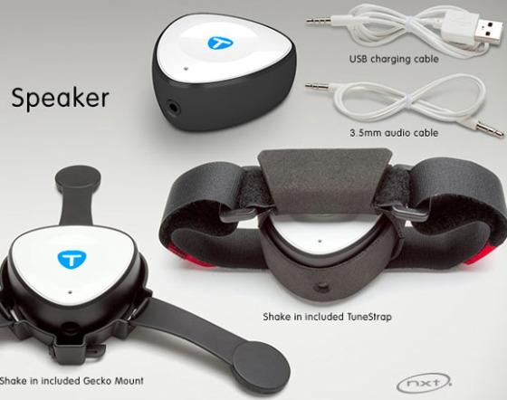 Tunebug Shake Helmet Speaker