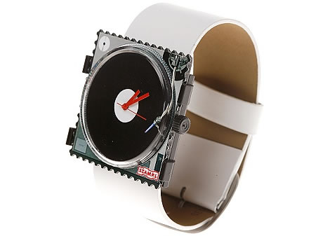 Stamp Disco-Record Duo Watch