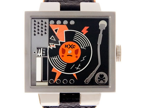Turntable Watch by Tokidoki