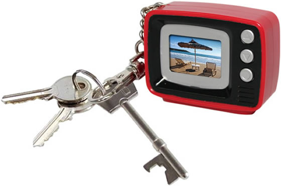 Mini Retro TV Digital Photo Frame